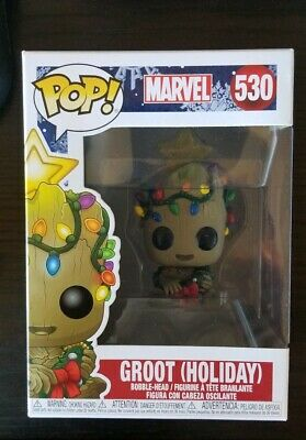 Funko Pop Marvel #530 Groot (Holiday) Christmas Mint