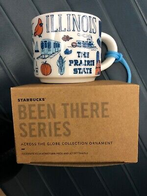 "Starbucks ""Been There Series"" Illinois Mug Ornament"