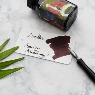 Noodlers American Aristocracy Red Brown 3oz Fountain Pen Ink Bottle