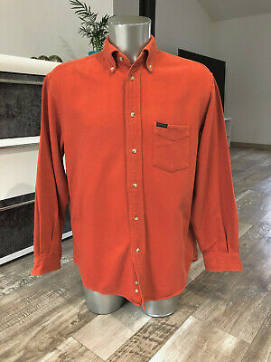 Pretty Shirt Orange Winter Façonnable Jeans Size M Man