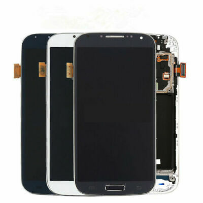 For Samsung Galaxy S4 i337 M919 i545 L720 R970 LCD Touch Screen Digitizer Frame