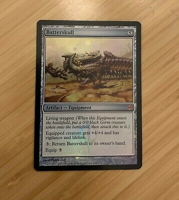 Foil MTG Batterskull New Phyrexia Magic the Gathering