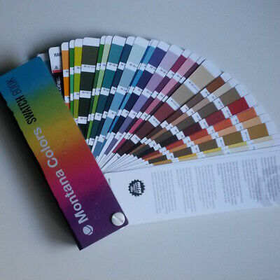 Montana Colors - Color Card / Swatch Book