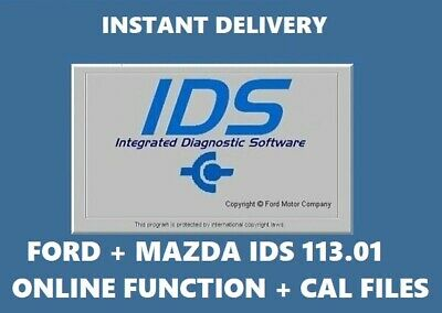 LATEST✔ Ford+Mazda IDS 2019 113.01✔ Online Diagnostic Software ✔NATIVE INSTALL ✔