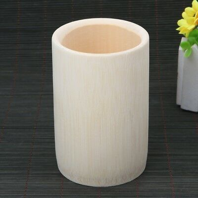 Handmade Natural Solid Bamboo Cup For Tea Sake Coffee Juice Drinks New