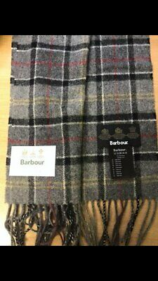 Barbour 100% Pure Lambswool Scarf New