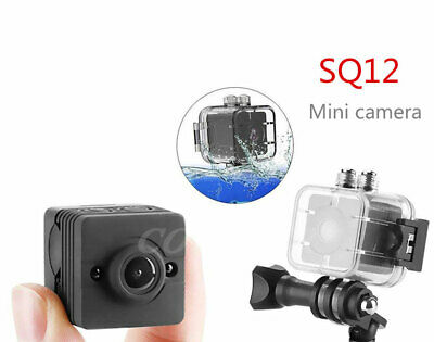 SQ12 Mini 1080P HD Car DVR Camera Motion Detection Support TF Card