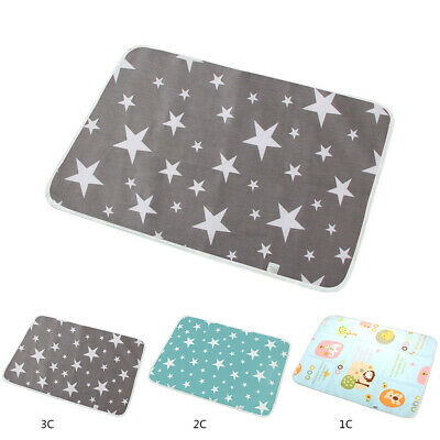 Waterproof Baby Nappy Diaper Changing Mat Travel Home Soft Change Pad Portable