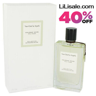 NEW Cologne Noire by Van Cleef & Arpels - Collection Extraordinaire 75ml EDP NIB