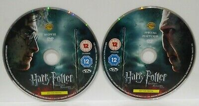 Harry Potter And The Deathly Hallows Part 2 - 2-Disc Set, Box Set) DISCS ONLY