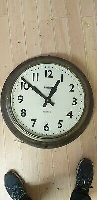 Large Original Roll Royce factory Smiths Sectric wall Clock