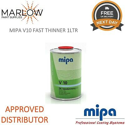 Mipa 271110000 V10 Fast 2K Thinner Reducer 1Ltr *Next Day Delivery*