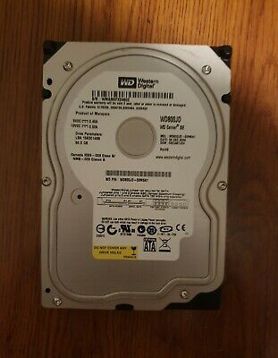 Cerec 3 Hard Drive with software Western Digital WD800JD 80GB 7200 RPM