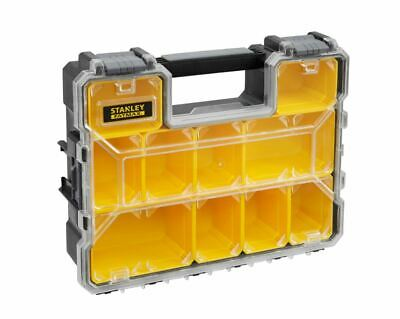 Malette Organiseur 10 Compartiments Amovibles Stanley Fatmax 1-97-521 *Neuf*