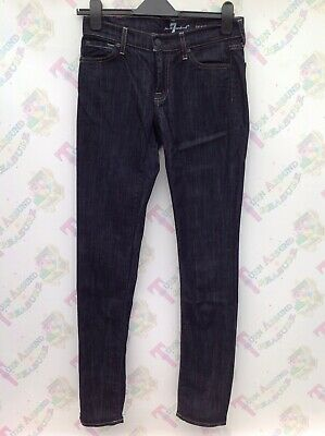 "7 For All Mankind Roxanne Blue Wash Jeans 27 Waist 32.5"" Inside Leg"