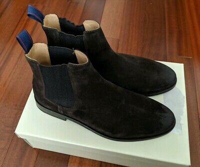 MEN'S THURSDAY BOOT Company Chelsea Boots Dark Olive Suede