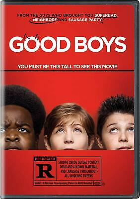 Good Boys - DVD - Brand New Factory Sealed ***FREE SHIPPING*** Ships Now