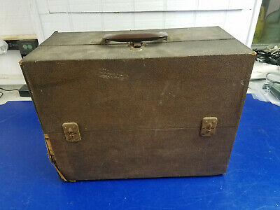 Pacemaker Jr. Tube Caddy Brown Carrying Case