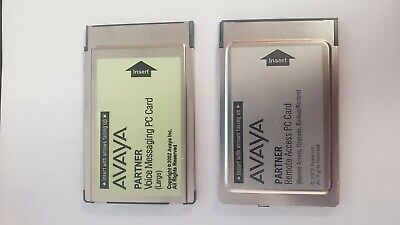 AVAYA Partner Voice Messaging PC Card Large & Remote Access PC Card