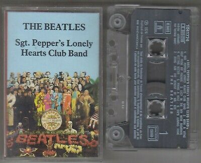 THE BEATLES cassette SGT. PEPPER'S LONELY HEARTS CLUB BAND 1987 France