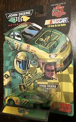 #97 CHAD LITTLE - JOHN DEERE -FORD- Racing Champions 1997 1:64 DC AUTOGRAPHED