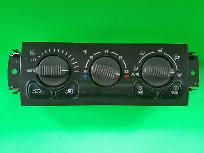 99-02 CHEVY 1500 SUBURBAN TAHOE AC HEAT CLIMATE TEMP CONTROL 15060162 15758149 1