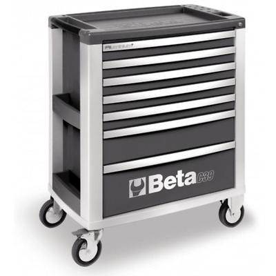 Beta Commode Chariot Port Outils Mobile avec 7 Tiroirs Atelier C39/7