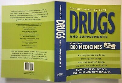 Reader's Digest Guide to DRUGS & SUPPLEMENTS 1300 Medicines NEW EDITION 2010