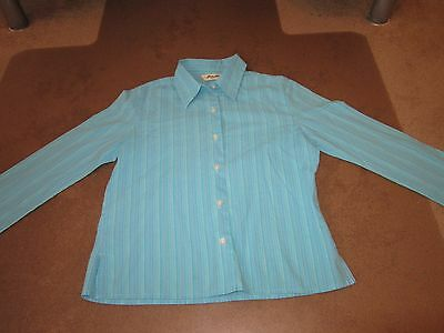 Girls Eddie Bauer Long Sleeve Button Front Blouse Size Petite Extra Small