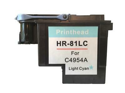 Refurbished For HP 81 C4954A Light Cyan Printhead For DesignJet 5000 5500