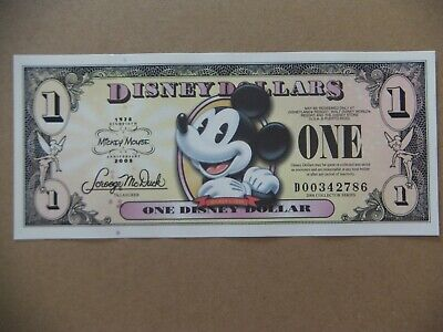 Disney dollar Mickey Mouse