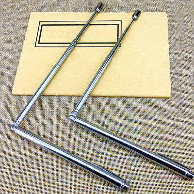 AU Stainless Steel DOWSING RODS With the conductivity of swivel handles