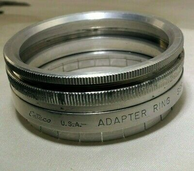 Enteco  Adapter series 7 VII Filter to 49.5mm ID Slip on Holders retaining ring