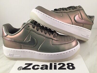 NIKE AIR FORCE 1 Upstep Premium LX Womens AA3964 001 Dark