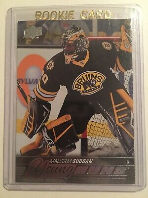 15-16 UD YG Young Guns Rookie RC #211 MALCOLM SUBBAN