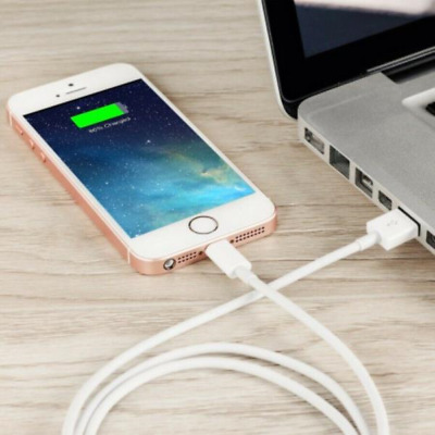 USB Lightning Charging Cable Data for Genuine Apple Charger iPhone iPad 6 8 7+