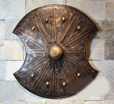 D4 Europe Battle Medieval Shield Antique Knight Armour Wall Home Decor Full Size