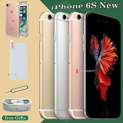 New Apple iPhone 6s 16GB 32GB 64GB 128GB Smartphone Sim Free Unlocked UK + Gift