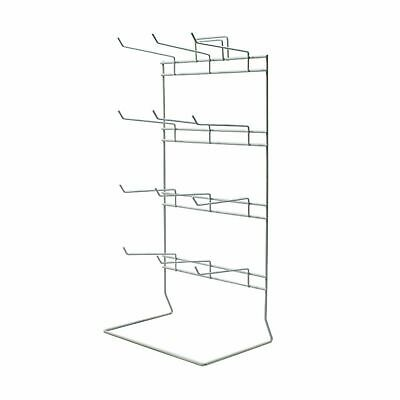 Retail Display Counter Stand 12 Hook for Keyrings Jewellery & Carded items