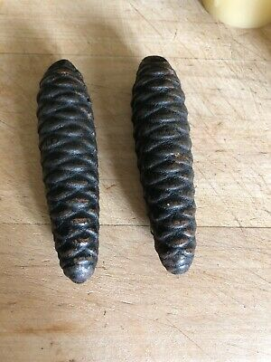 Pair of Vintage Black Forest Cuckoo Clock Weights 275 ET