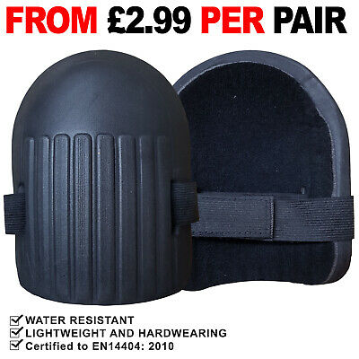 Lightweight Moulded Knee Pad Soft Foam Pads With Strap Sport Work Kneepad