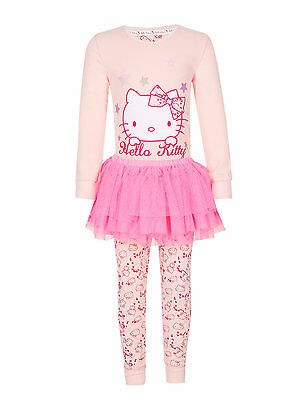 Marks & Spencer Girls Pyjamas Set 3 Pieces Hello Kitty Tutu 2 – 3 years RRP £ 16