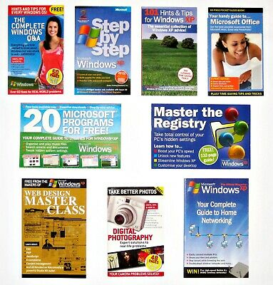 9 x COMPUTER POCKET BOOKS - EXCELLENT CONDITION - $12 THE LOT