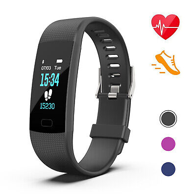 Fitbit Style Smart Watch Bracelet Wristband Heart Rate Activity Fitness Monitor