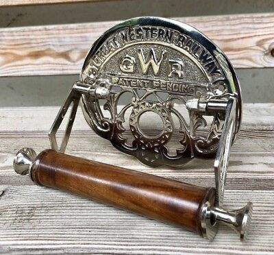 Traditional GWR Vintage Design Victorian Toilet Roll Holder Chrome Finish