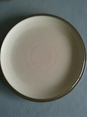 "Denby Everyday Cappuccino cream brown 9"" salad/small dinner Plate"