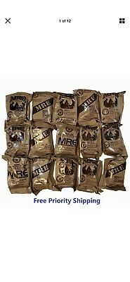 MRE US MILITARY Case A/B 5 Random Draw - MEALS READY TO EAT