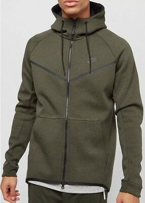 - Large Nike Tech Fleece Windrunner New ~ 805144 330 Dark Loden