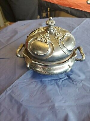Antique Forbes Silver Co. Quadruple Silverplate Pattern # 203