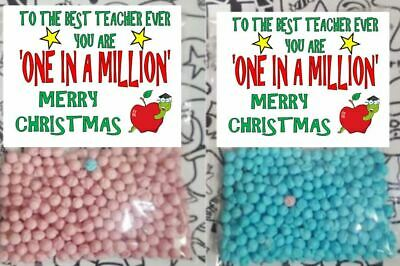 One in a Million Sweets Best Teacher Funny Card Gift School Thank you Present